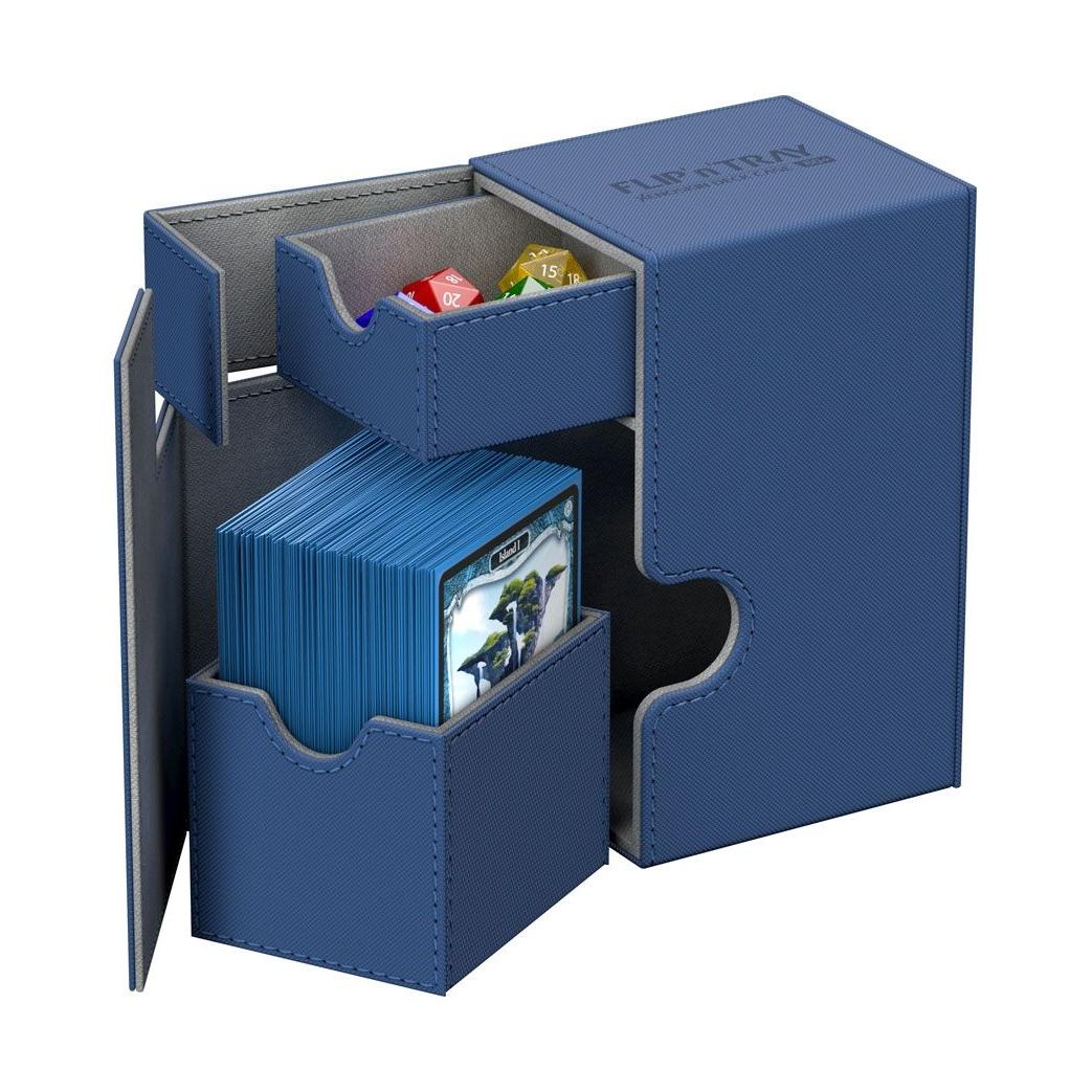 MagicCorporation - Boites de Rangements Deck Box - Bleu - T2 Accessoires Pour Cartes