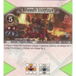011 - Rare -  Béhémoth triceptaure [Biolith Rebellion - Cartes The Eye of judgment]