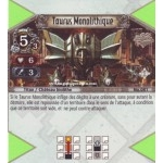 081 - Peu Commune -  Taurus Monolithique [Biolith Rebellion - Cartes The Eye of judgment]