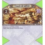 098 - Commune -  Fissures de Goghlie [Biolith Rebellion - Cartes The Eye of judgment]
