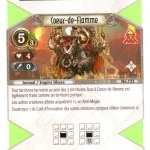 123 - Peu Commune - Coeur-de-flamme [Biolith Rebellion 2 - Cartes The Eye of judgment]