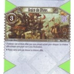 195 - Commune - Ordre de Dhees [Biolith Rebellion 2 - Cartes The Eye of judgment]