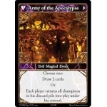 010 - Army of The Apocalypse [Set 1 - Cartes Epic]