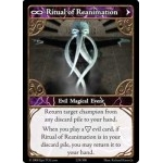 228 - Ritual of Reanimation [Set 1 - Cartes Epic]