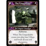 266 - The Unspeakable [Set 1 - Cartes Epic]