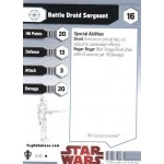 03 - Battle Droid Sergeant [Star Wars Miniatures - Galaxy at War]