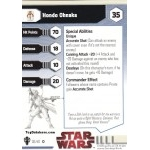 Produit N°15387 : 36 - Hondo Ahnaka [Star Wars Miniatures - Galaxy at War]