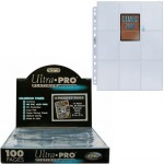Ultra Pro - Lot De 100 Feuilles De Classeur - [9-Pocket Pages Platinum] - ACC