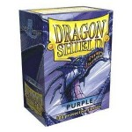100 pochettes Dragon Shield - Purple (violet) - ACC