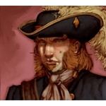 129 - Captain (Treasure) - Pirates of the Crimson Coast