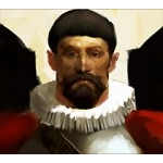 061 - Inquisitor Sebastián Blanco (Crew) - Pirates of the Crimson Coast