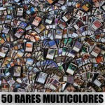Lot de 50 rares multicolores (lot A)