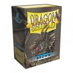 100 pochettes Dragon Shield - Brown (marron) - ACC