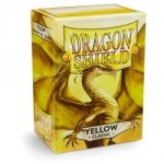 100 pochettes Dragon Shield - Yellow (jaune) - ACC