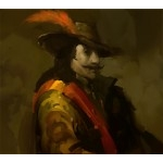 088 - Monsieur LeNoir (Crew) - Pirates of the Crimson Coast