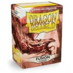 100 pochettes Dragon Shield - Fusion (bordeau) - ACC