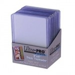 "25 Toploader Ultra Pro - 3"" x 4"" Thick 55pt Card Holder - Clear - ACC"
