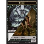 Token/Jeton - Commander 2014 - Double : Demon ** / Zombie B