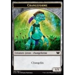 Token/Jeton - Commander 2015 - Double : Changeforme/Elemental et Shamane
