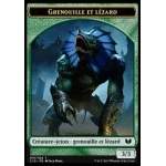 Token/Jeton - Commander 2015 - Double :Grenouille/Germe