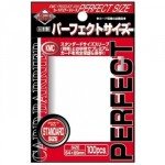 100 pochettes KMC - Card Barrier - Perfect Size - Clear - ACC