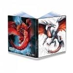 Portfolio Ultra Pro - A5 - Black & Demon Dragon - ACC
