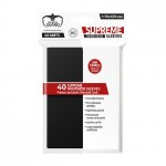 40 grandes pochettes Ultimate Guard - Sleeves Oversized - Noir - Ultimate Guard - ACC