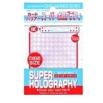 50 pochettes KMC -  Super Holography - Clear - ACC