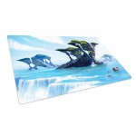 Tapis De Jeu Ultimate Guard - Playmat - Lands Edition Ile - Bleu - ACC
