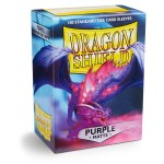100 pochettes Dragon Shield Matte - Violet (Purple) - ACC