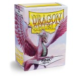 100 pochettes Dragon Shield Matte - Rose (Pink) - ACC