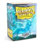 100 pochettes Dragon Shield Matte - Clear - ACC