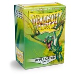100 pochettes Dragon Shield Matte - Apple Green - ACC