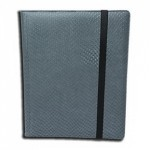 Portfolio Legion - A5 Dragonhide Binder 4 Cases - Gris - Acc