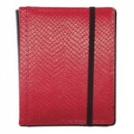 Portfolio Legion - A5 Dragonhide Binder 4 Cases - Rouge - Acc