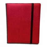 Portfolio Legion - A4 Dragonhide Binder 9 Cases - Rouge - Acc