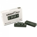 Ultra Pro - Gravity Dice Dé 6 Faces - Black Forest / Vert - 2 Dice Set - ACC