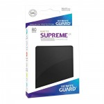 80 pochettes Ultimate Guard - Sleeves Supreme UX - Noir Matte - ACC