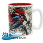 DC COMICS - Mug/Tasse - 460 ml - Superman & logo