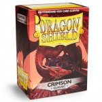 100 pochettes Dragon Shield - Crimson - ACC