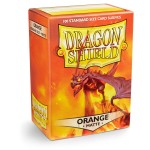100 pochettes Dragon Shield Matte - Orange - ACC
