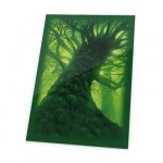 80 Pochettes Ultimate Guard - Lands Edition - Foret/vert - Acc
