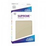 60 Pochettes Ultimate Guard - Taille Small - Sleeves Supreme Ux - Sable - Acc