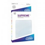 60 Pochettes Ultimate Guard - Taille Small - Sleeves Supreme Ux - Frosted - Acc
