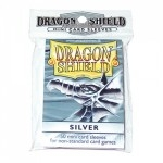 50 pochettes Dragon Shield - Taille Small - Argent - ACC