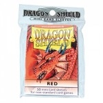 50 pochettes Dragon Shield - Taille Small - Rouge - ACC