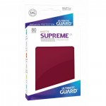 80 Pochettes Ultimate Guard - Sleeves Supreme Ux - Bourgogne Matte - Acc
