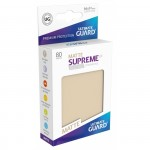 80 Pochettes Ultimate Guard - Sleeves Supreme Ux - Sable Matte - Acc