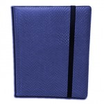 Portfolio Legion - A4 Dragonhide Binder 9 Cases - Bleu - Acc