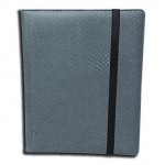 Portfolio Legion - A4 Dragonhide Binder 9 Cases - Gris - Acc